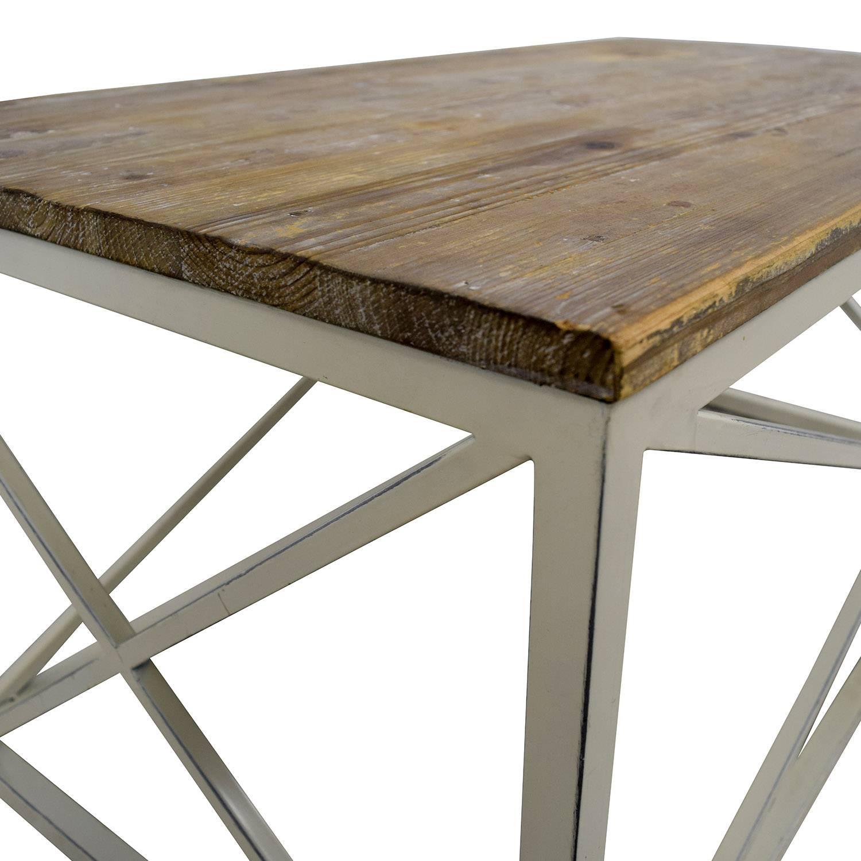 54% Off - Wayfair Wayfair Wooden And Metal Coffee Table / Tables throughout Wayfair Coffee Tables (Image 2 of 30)