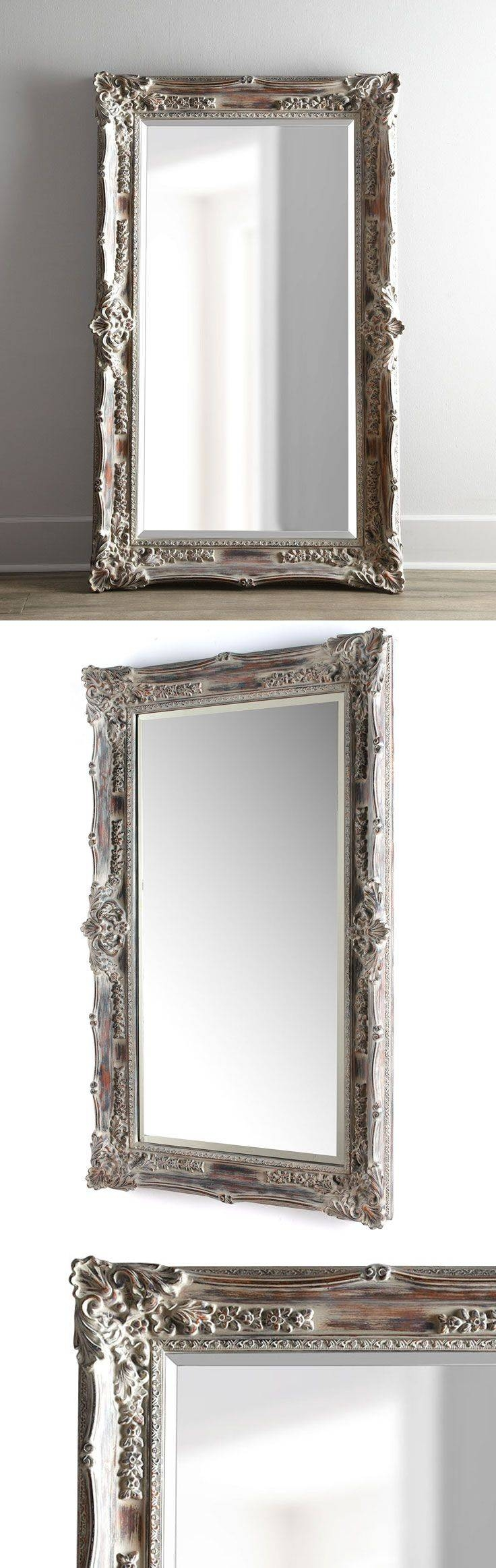 57 Best Shop: Wall Decor Images On Pinterest | Wall Decor, Mirror inside Antique French Floor Mirrors (Image 3 of 25)