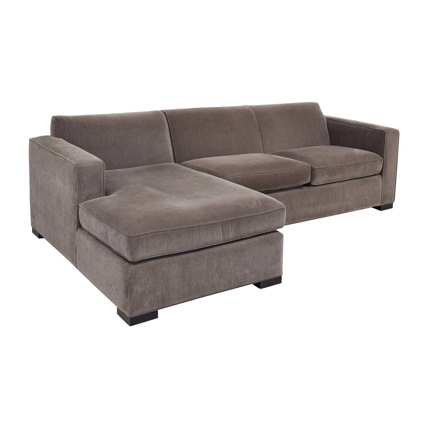 58% Off - Room & Board Room & Board Ian Grey Sectional / Sofas for Room and Board Sectional Sofa (Image 1 of 25)