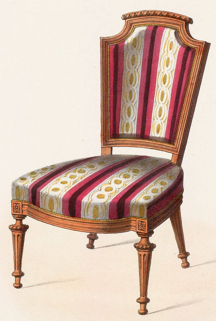 589 Best Chairs And Sofa Illustrations Images On Pinterest | Sofa throughout Vintage Sofa Styles (Image 1 of 30)