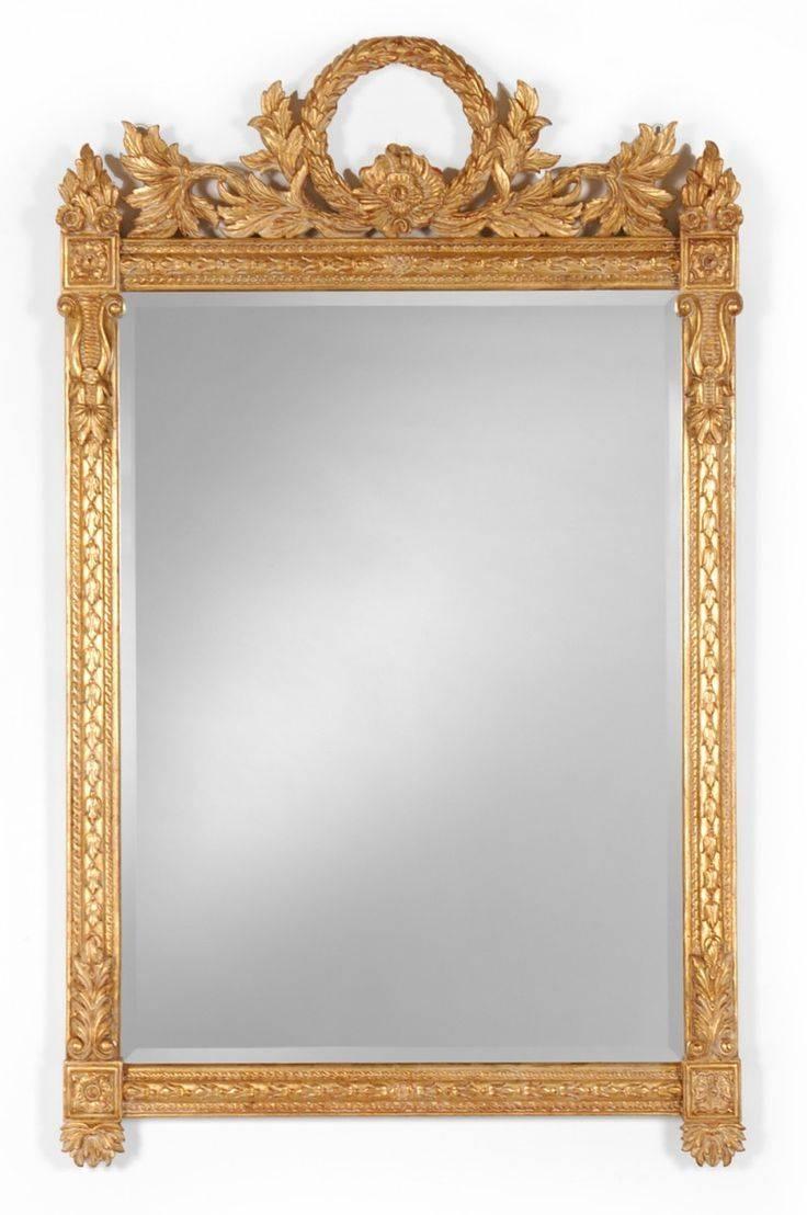 599 Best Mirrors Images On Pinterest | Mirror Mirror, Antique Regarding Antique Gilded Mirrors (Photo 13 of 25)