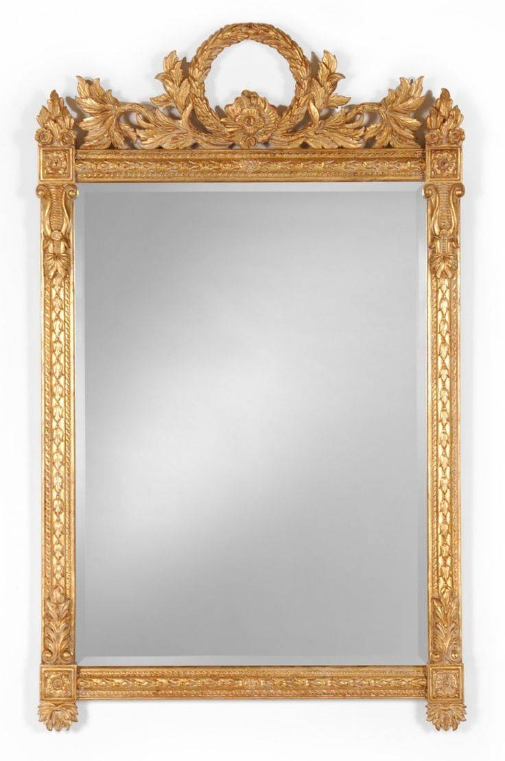 599 Best Mirrors Images On Pinterest | Mirror Mirror, Antique with Antique Gold Mirrors (Image 4 of 25)