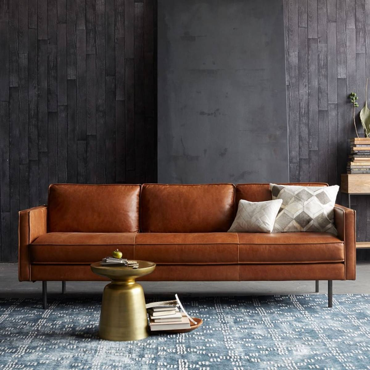 6 Of The Besttan Leather Sofas On The High Street | Design Seeker with regard to Aniline Leather Sofas (Image 3 of 30)