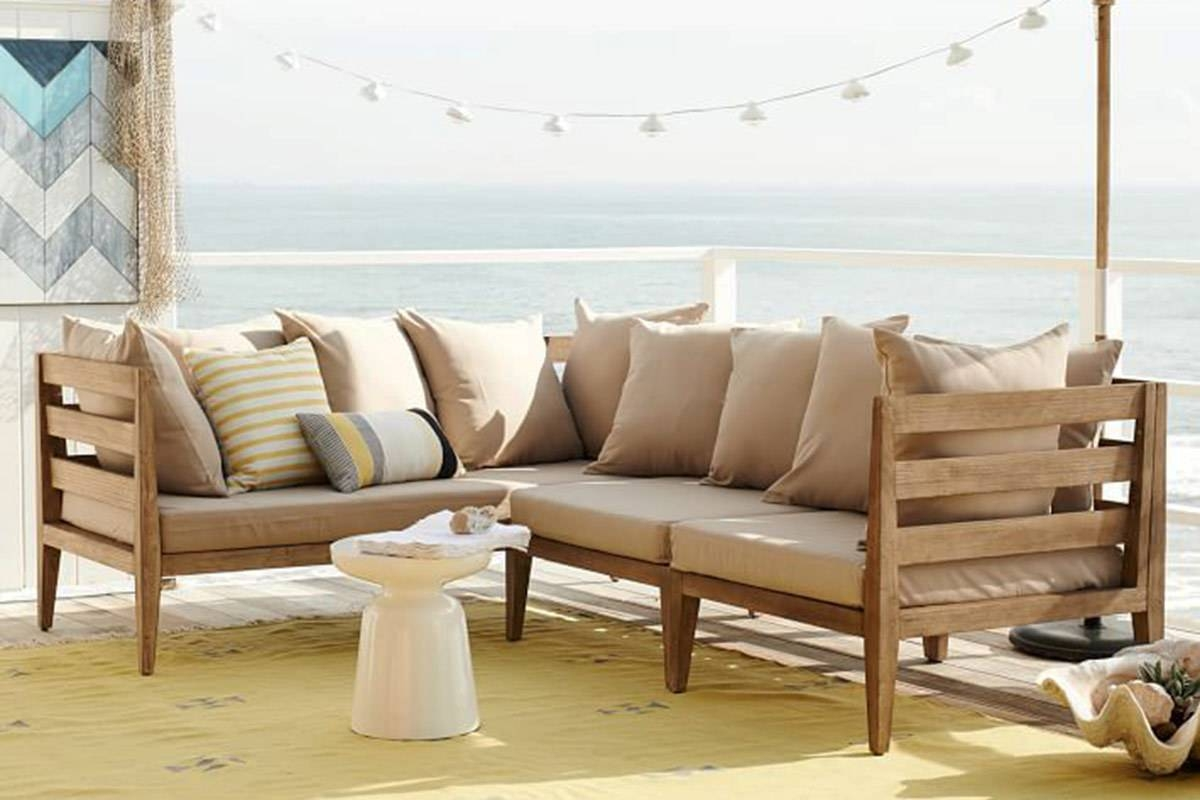 6 Outdoor Sectional Sofas For A Contemporary Patio intended for West Elm Sectional Sofa (Image 2 of 30)