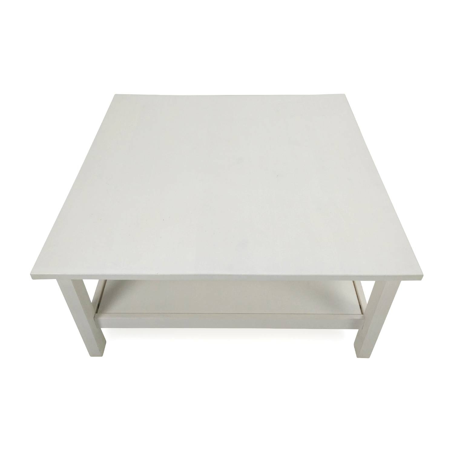 60% Off - Unknown Brand Antique Glass Coffee Table / Tables with regard to Retro Glass Coffee Tables (Image 1 of 30)