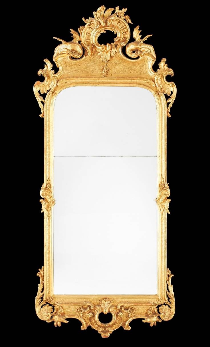 65 Best Mirrors Images On Pinterest | Mirror Mirror, Antique intended for Rococo Gold Mirrors (Image 11 of 25)