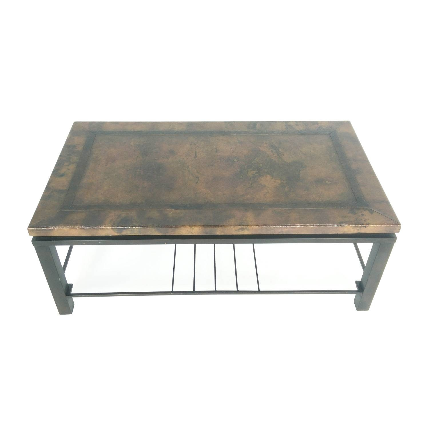 30 Ideas of Bronze Coffee Tables