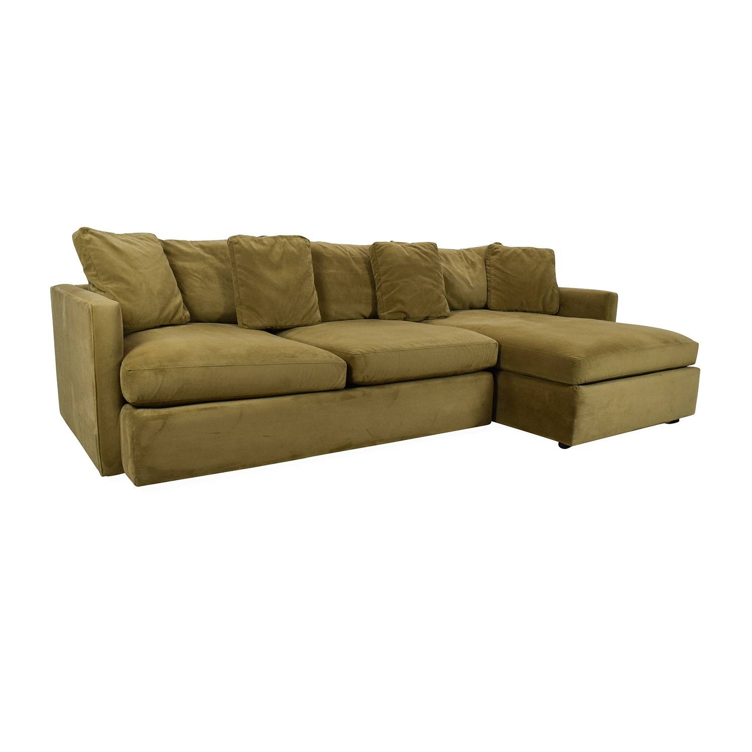 65% Off   Crate And Barrel Crate And Barrel Lounge Ii Sectional Inside Crate And Barrel Sectional Sofas (Photo 4 of 30)