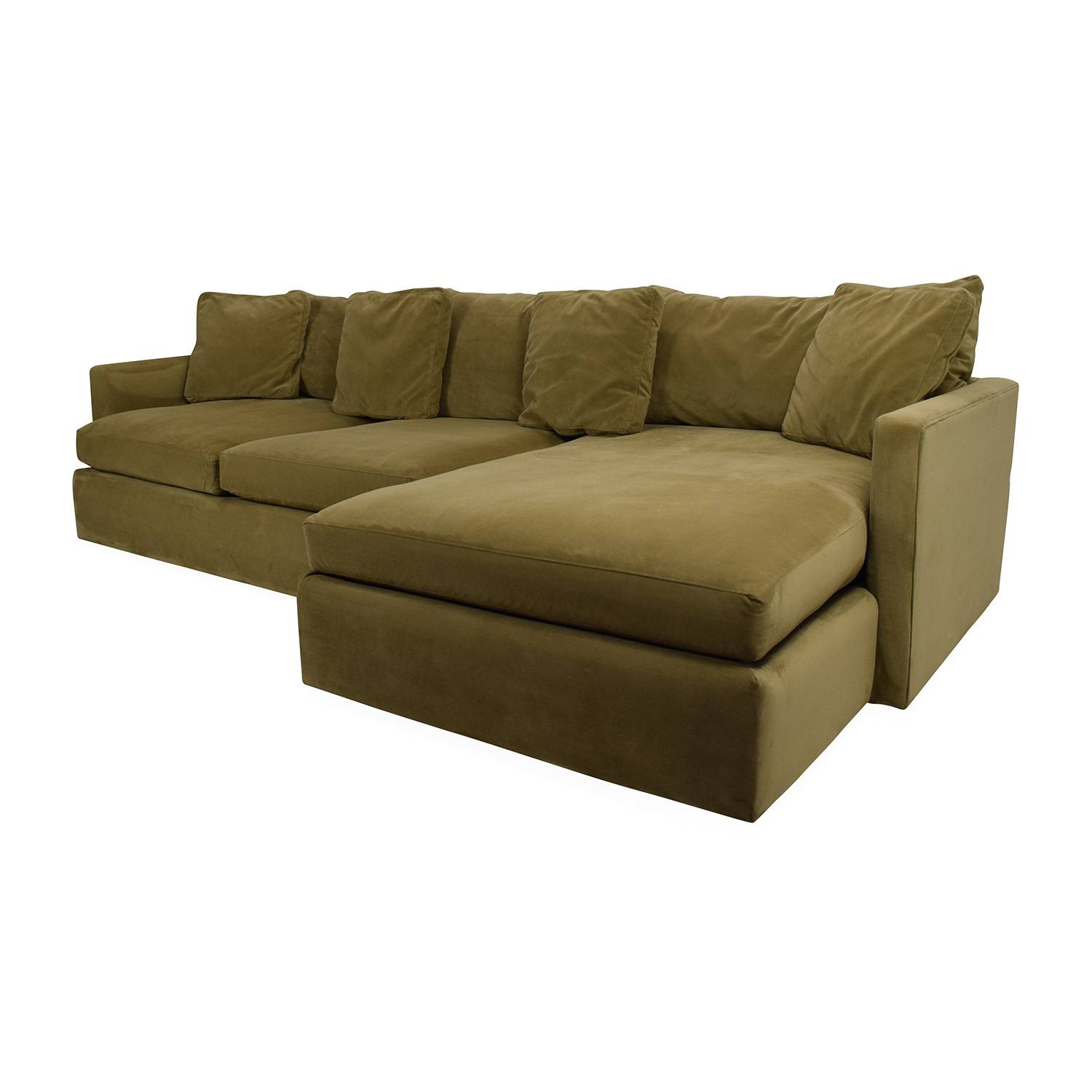 65% Off - Crate And Barrel Crate And Barrel Lounge Ii Sectional with regard to Crate And Barrel Sectional Sofas (Image 5 of 30)