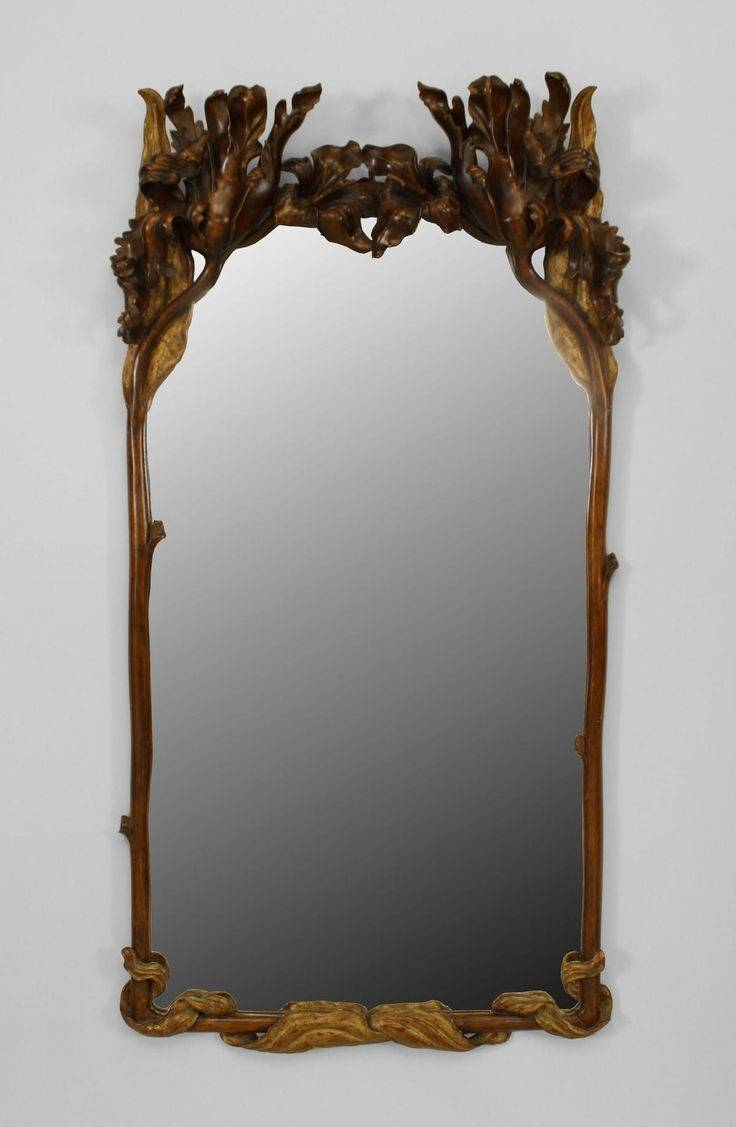 68 Best Looking Glass - Art-Nouveau Images On Pinterest | Mirror regarding Antique Art Deco Mirrors (Image 1 of 25)