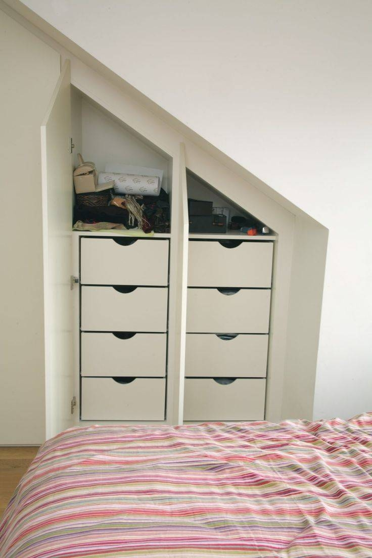 69 Best Mansard Images On Pinterest | Attic Storage, Storage In Drawers For Fitted Wardrobes (Photo 30 of 30)