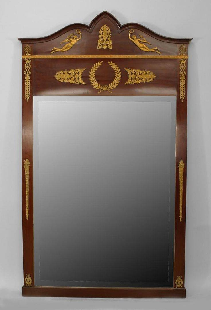 694 Best Antique Mirrors Vintage Looking Glass Images On Pinterest pertaining to Antique Looking Mirrors (Image 8 of 25)
