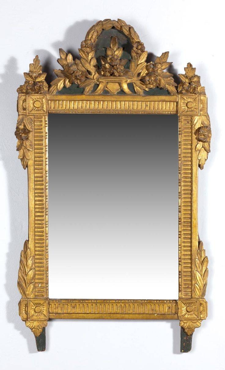 694 Best Antique Mirrors Vintage Looking Glass Images On Pinterest throughout Antique Looking Mirrors (Image 9 of 25)