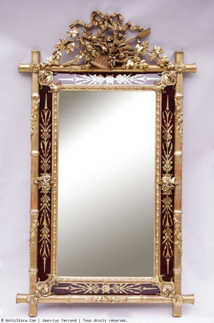 694 Best Antique Mirrors Vintage Looking Glass Images On Pinterest Throughout Vintage Looking Mirrors (Gallery 5 of 25)