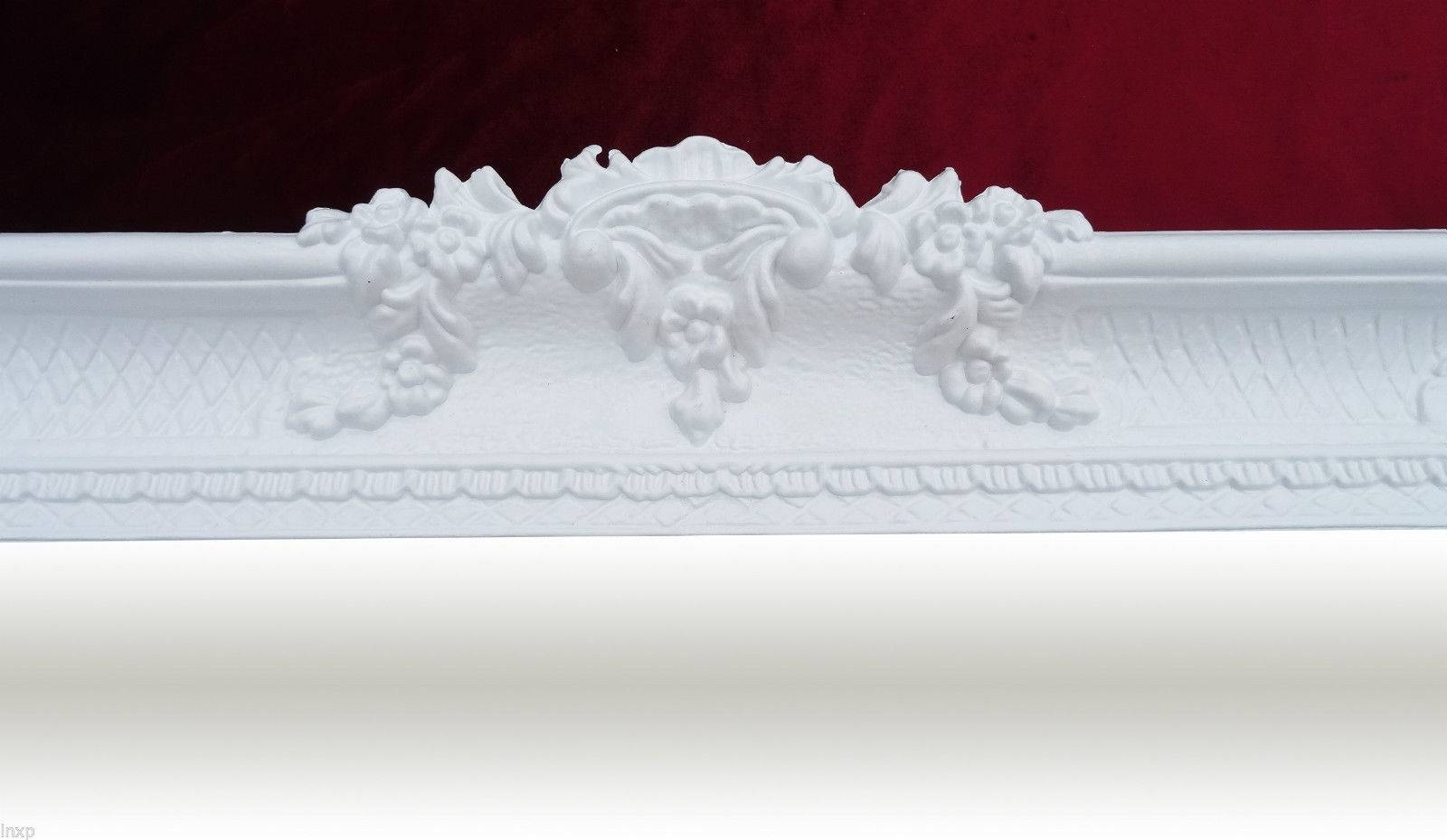 7 Antique White Floor Mirror | Hobbylobbys Throughout White Baroque Floor Mirrors (Photo 11 of 25)