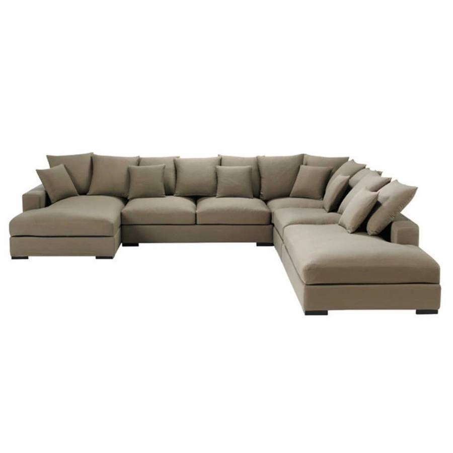 7 Seater Leather Corner Sofa Modern With Regard To Modular Corner Sofas (Photo 26 of 30)