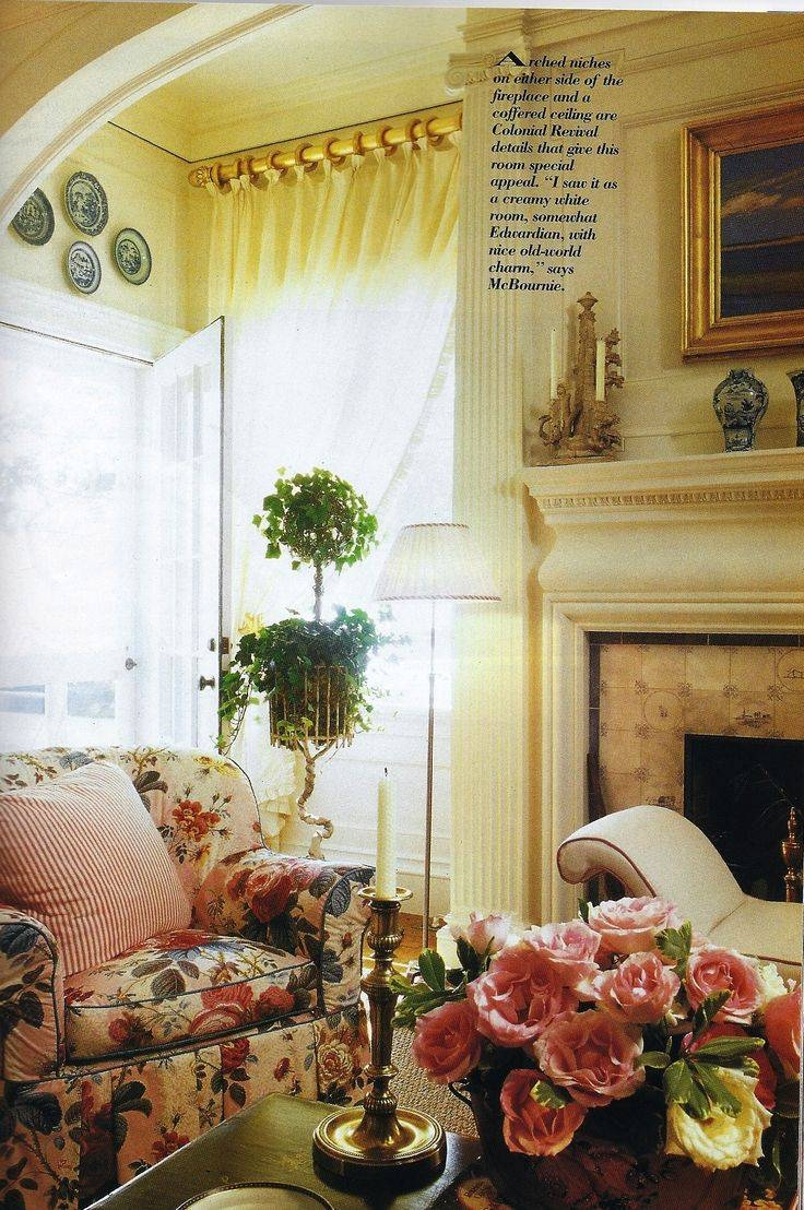 70 Best Chintz Love Images On Pinterest | Shabby Chic Decor Throughout Chintz Floral Sofas (Photo 29 of 30)