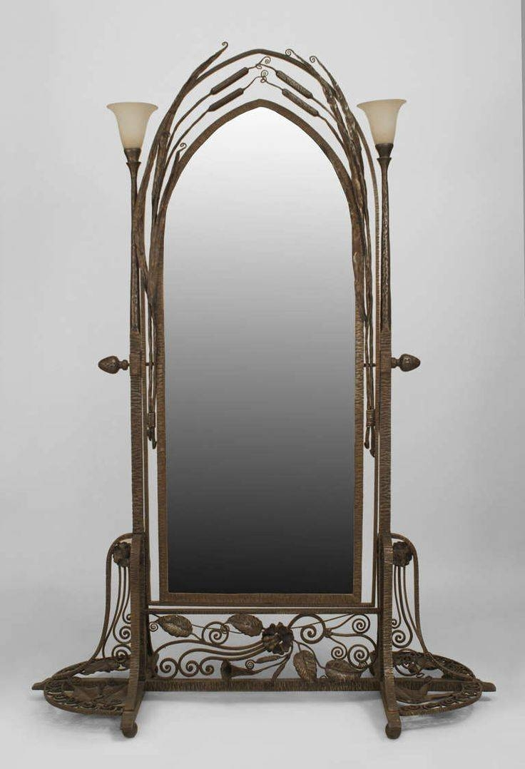 Featured Photo of Wrought Iron Standing Mirrors