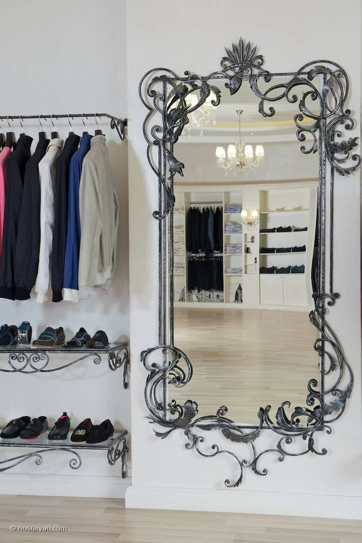 70 Best Wrought Iron Mirrors Images On Pinterest | Wrought Iron With Regard To Black Wrought Iron Mirrors (Photo 4 of 25)