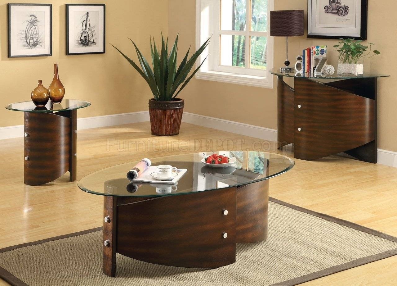 701748 3Pc Coffee Table Setcoaster W/optional Sofa Table pertaining to Sofa Table Chairs (Image 1 of 30)