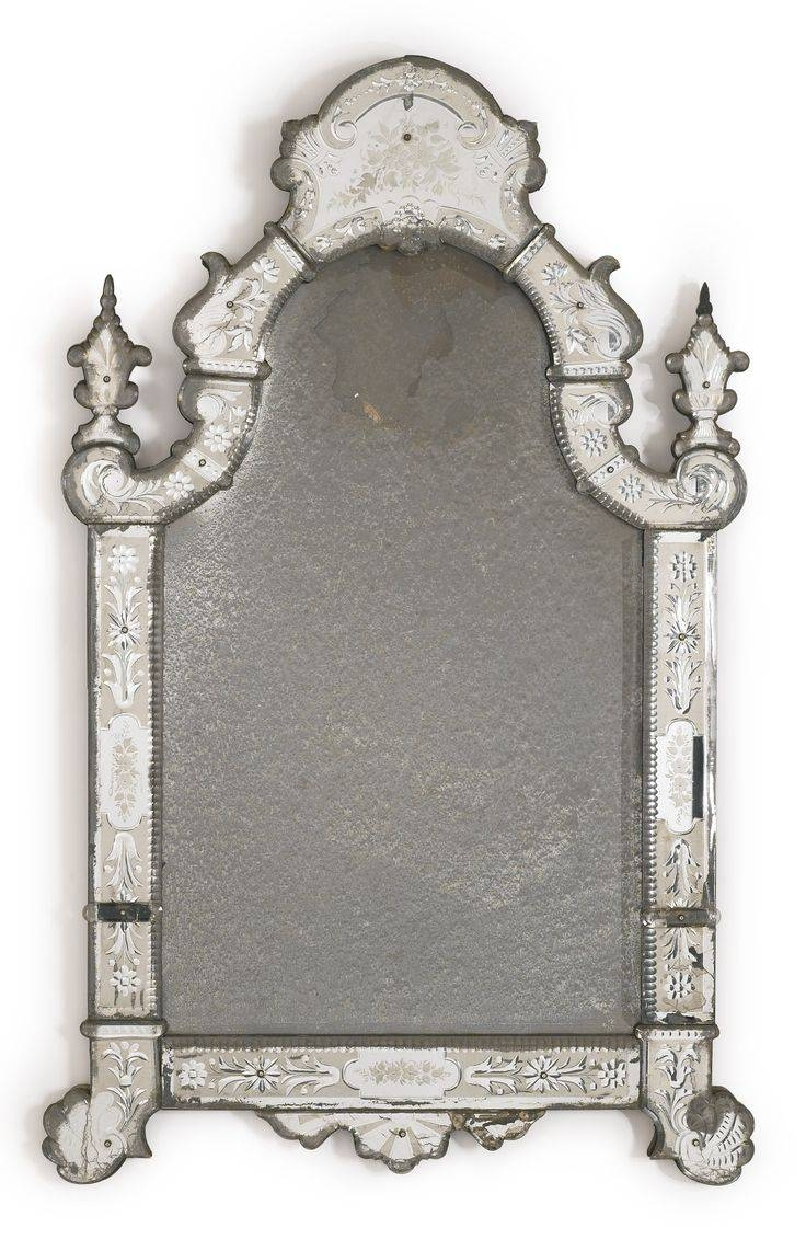 703 Best Antique Mirrors Frame Images On With Regard To Venetian