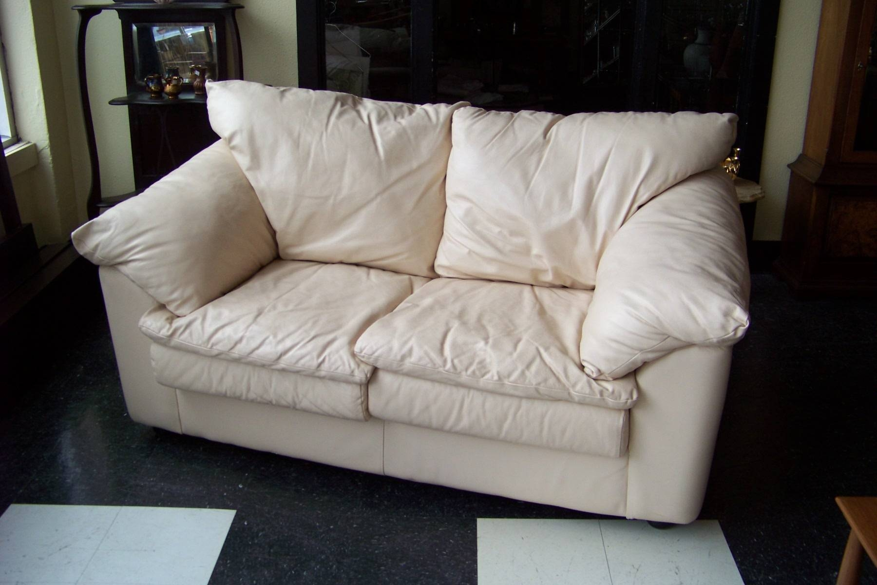 71 Cool Cream Colored Leather Sofa Home Design | Hoozoo With Regard To  Cream Colored Sofas