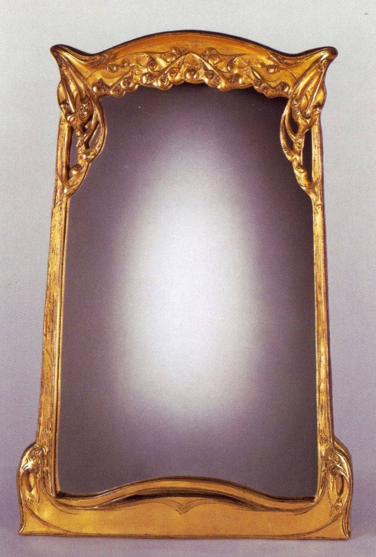 73 Best Art Nouveau Mirrors & Frames Images On Pinterest | Picture With Regard To Art Nouveau Mirrors (View 23 of 25)