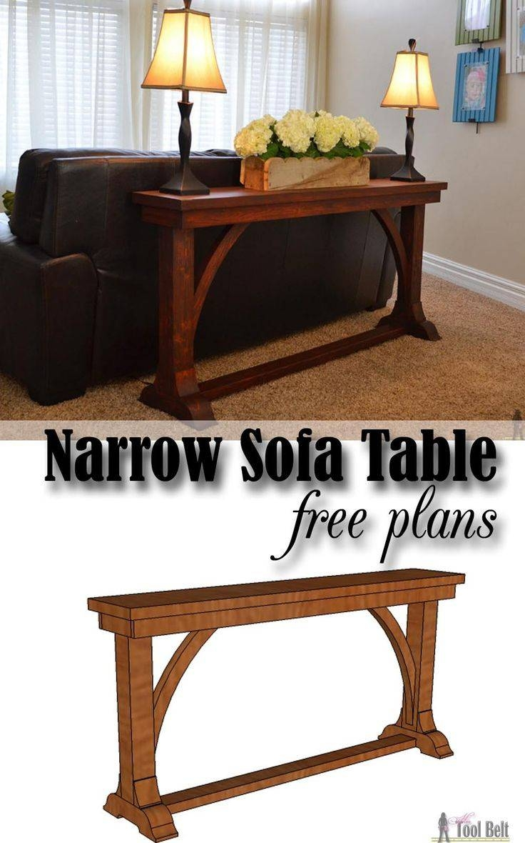 78 Best Sofa Table Images On Pinterest | Sofa Tables, Couch Table for Narrow Sofa Tables (Image 1 of 30)