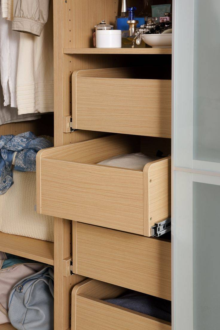 78 Best Wardrobe Images On Pinterest | Cabinet, Furniture And Inside Oak Wardrobe With Drawers And Shelves (Photo 19 of 30)