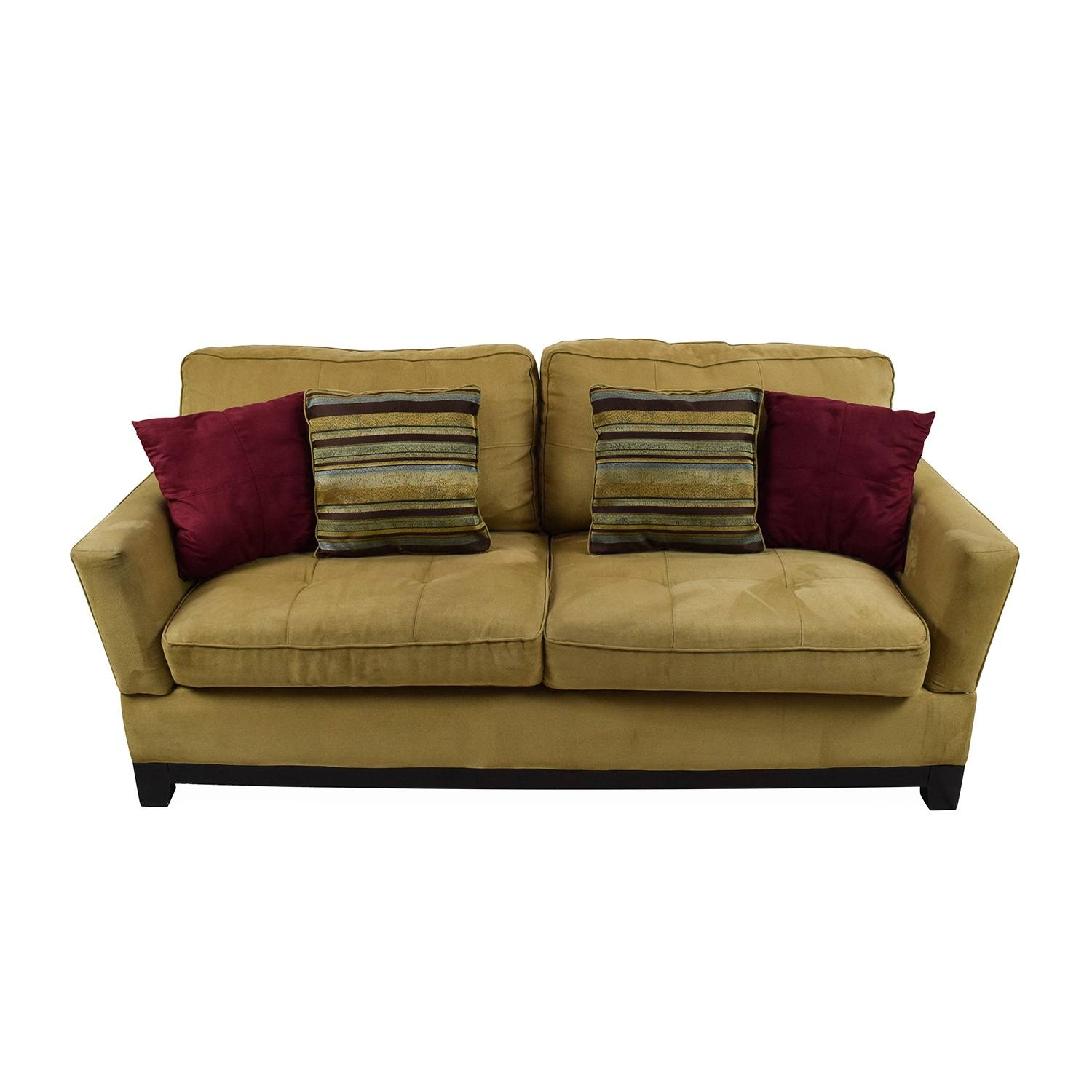 78% Off   Jennifer Convertibles Jennifer Convertibles Tan Sofa / Sofas Pertaining To Jennifer Sofas (Photo 3 of 30)