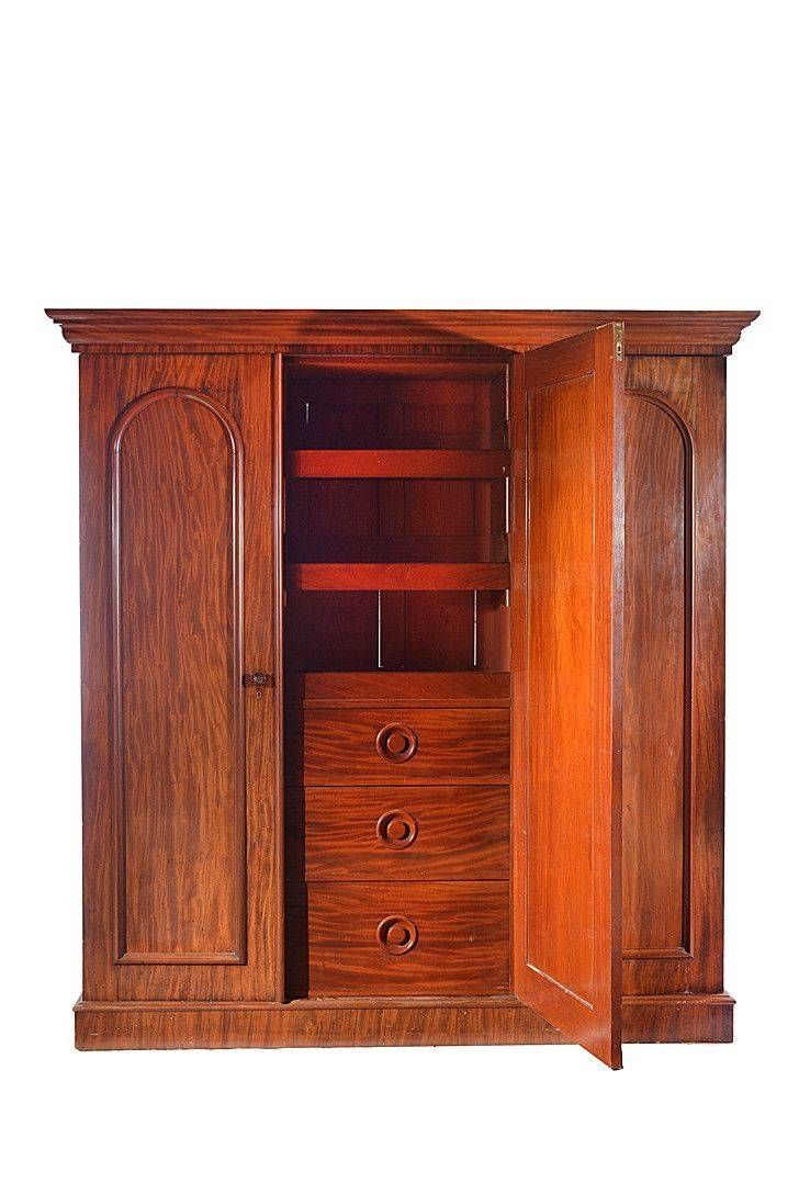 8 Best Antique Victorian Wardrobes Images On Pinterest | Antique With Regard To Victorian Wardrobes (Photo 9 of 15)