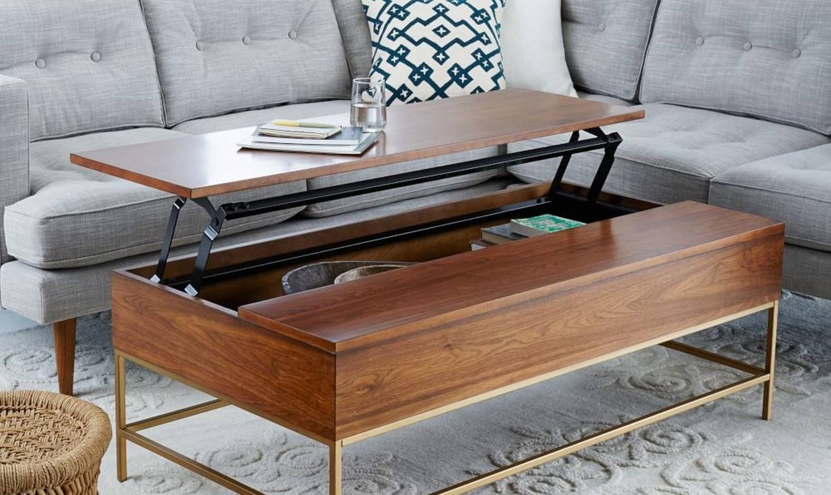 8 Best Coffee Tables For Small Spaces throughout Cheap Coffee Tables With Storage (Image 1 of 30)