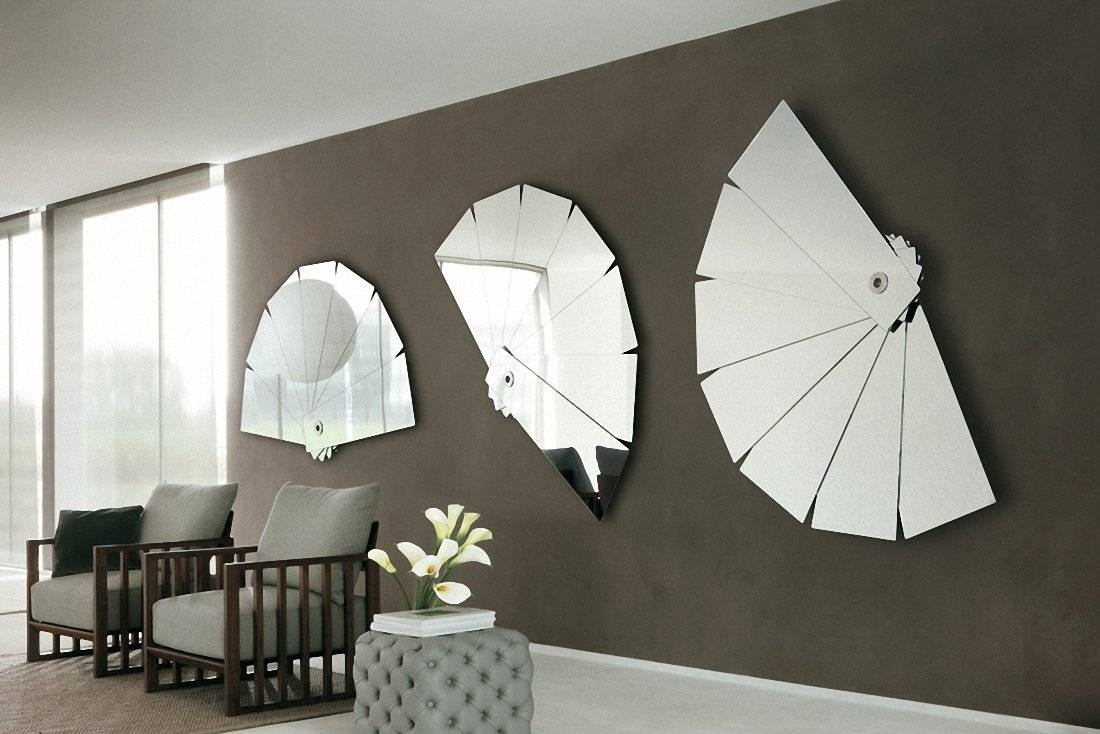 8 Modern Mirror Wall Art, Decorative Wall Mirrors Sensu inside Modern Mirrors (Image 5 of 25)