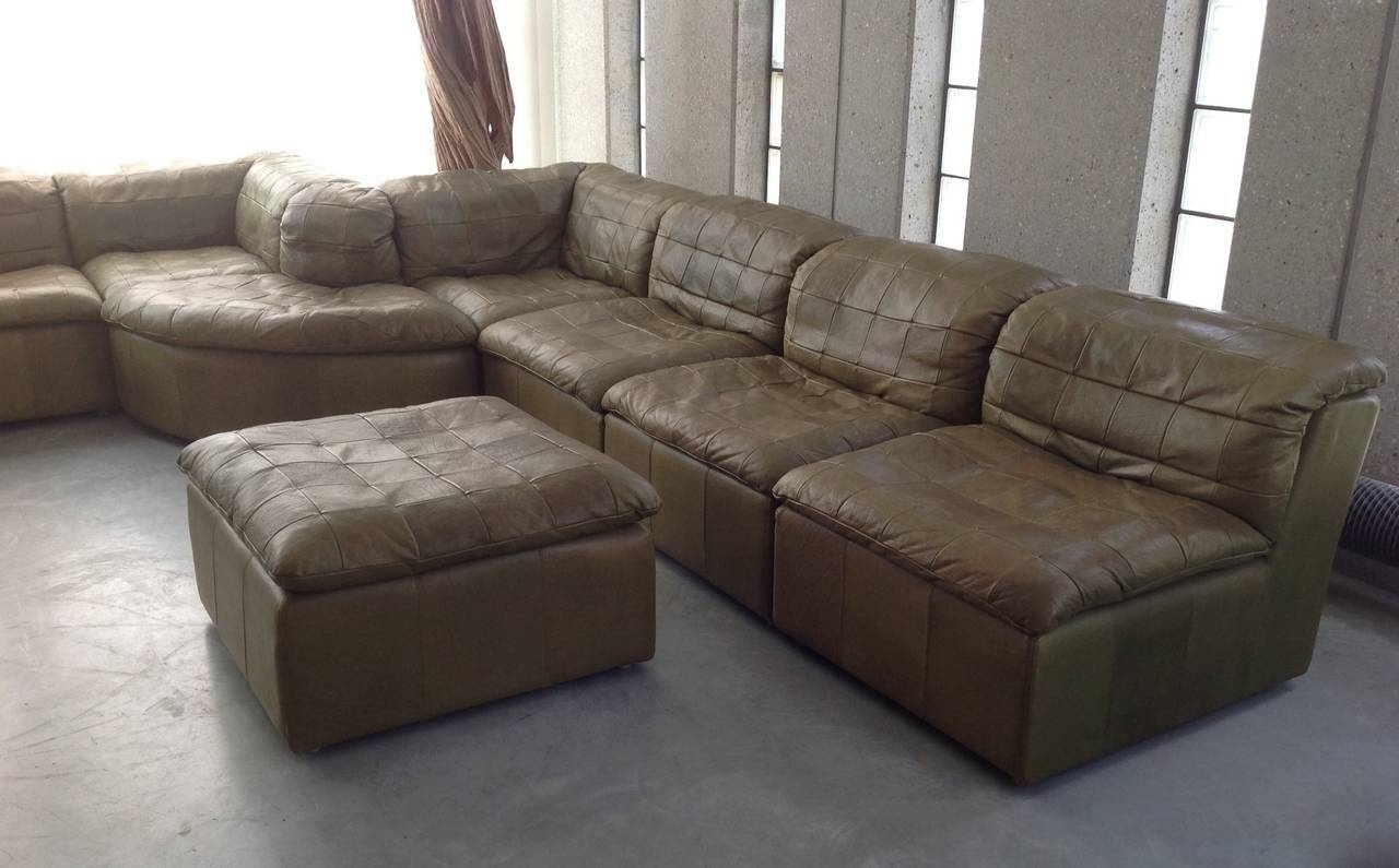 8 Olive Green Sectional Sofa | Carehouse pertaining to Green Sectional Sofa (Image 2 of 30)