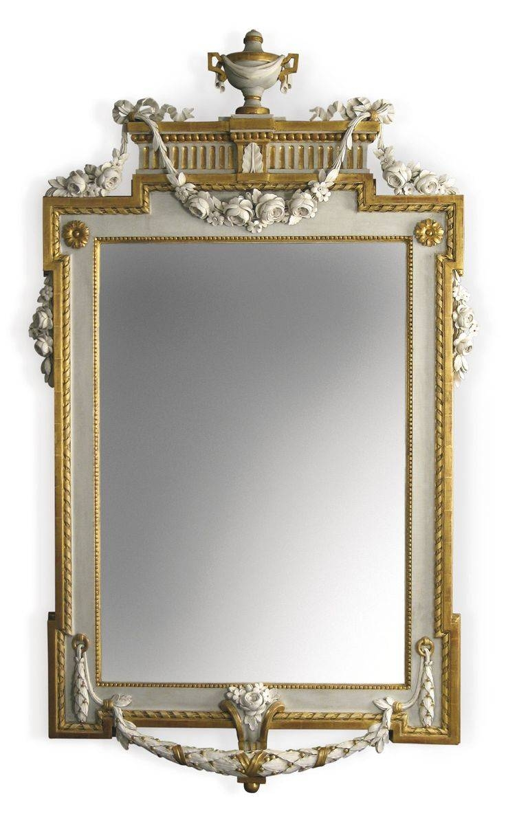 827 Best Mirrors Images On Pinterest | Mirror Mirror, Vintage Within Old Fashioned Mirrors (Photo 8 of 25)