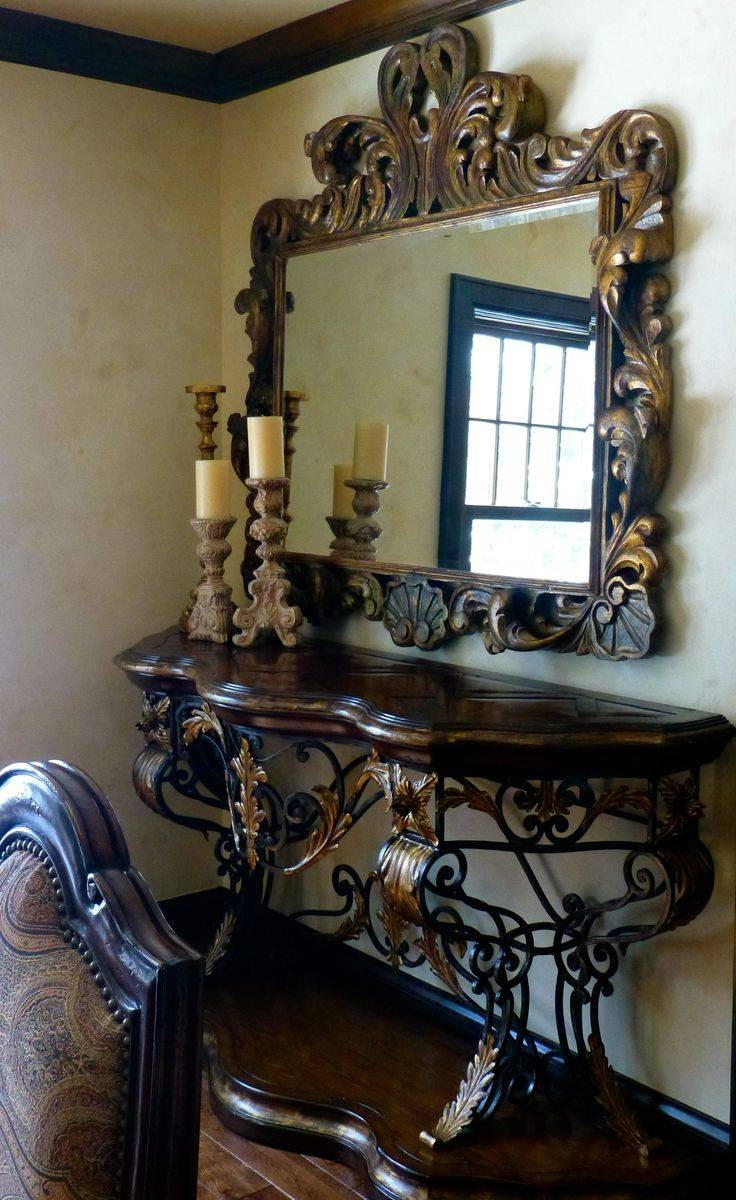 836 Best Espelhos Images On Pinterest | Mirror Mirror, Antique regarding Old Style Mirrors (Image 4 of 25)