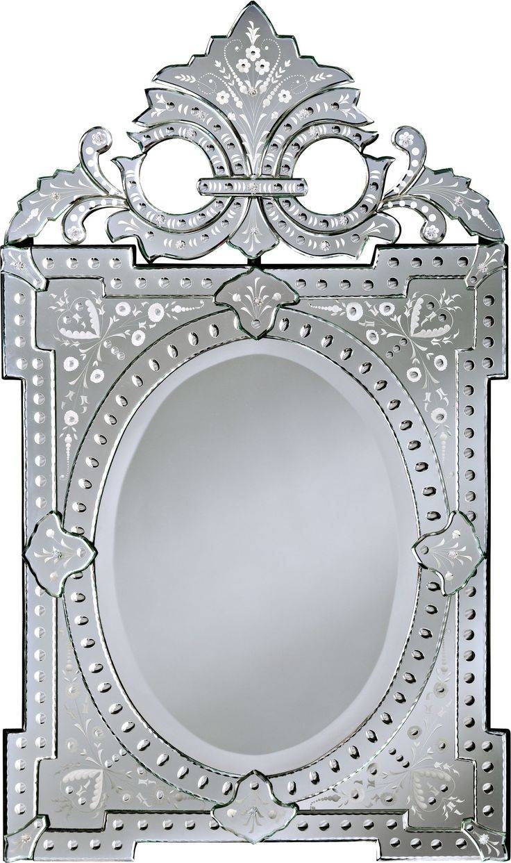 85 Best Mirrors Images On Pinterest | Mirror Mirror, Wall Mirrors pertaining to White Antique Mirrors (Image 2 of 25)