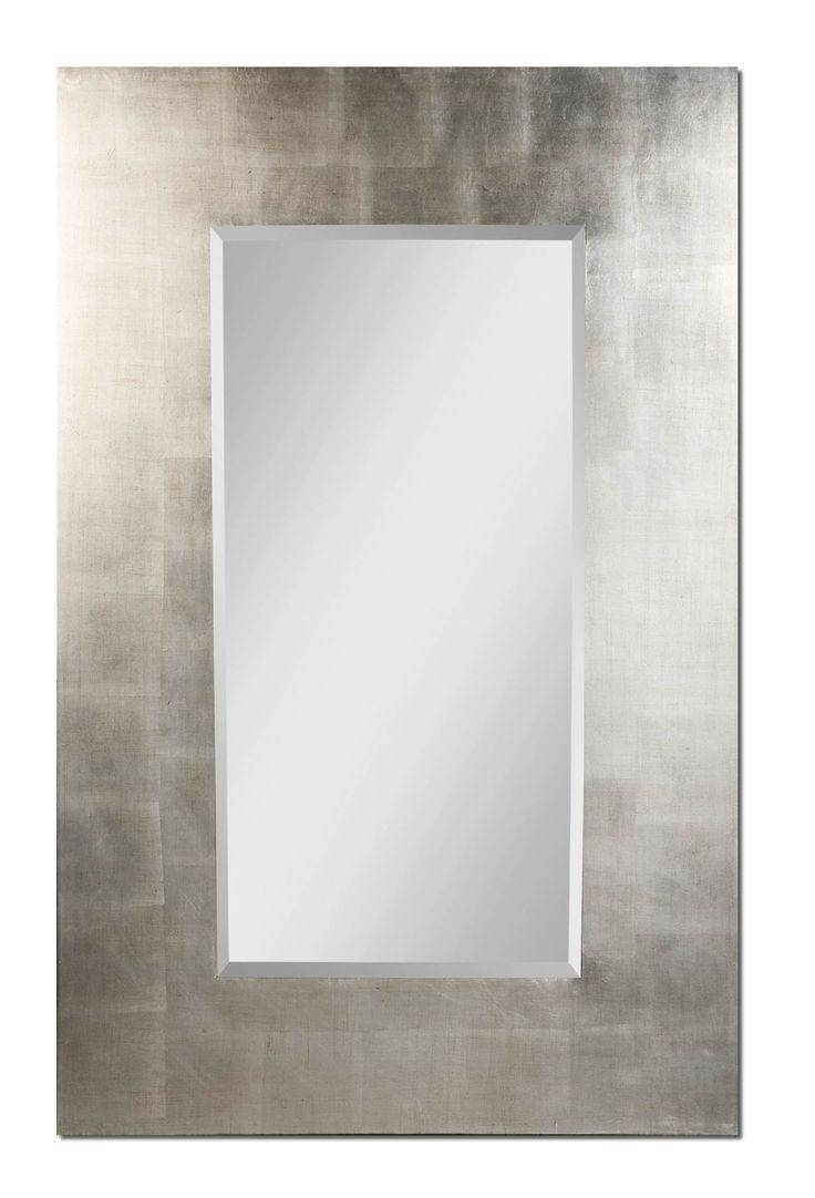85 Best Mirrors Images On Pinterest | Wall Mirrors, Mirror Mirror intended for Modern Silver Mirrors (Image 1 of 25)