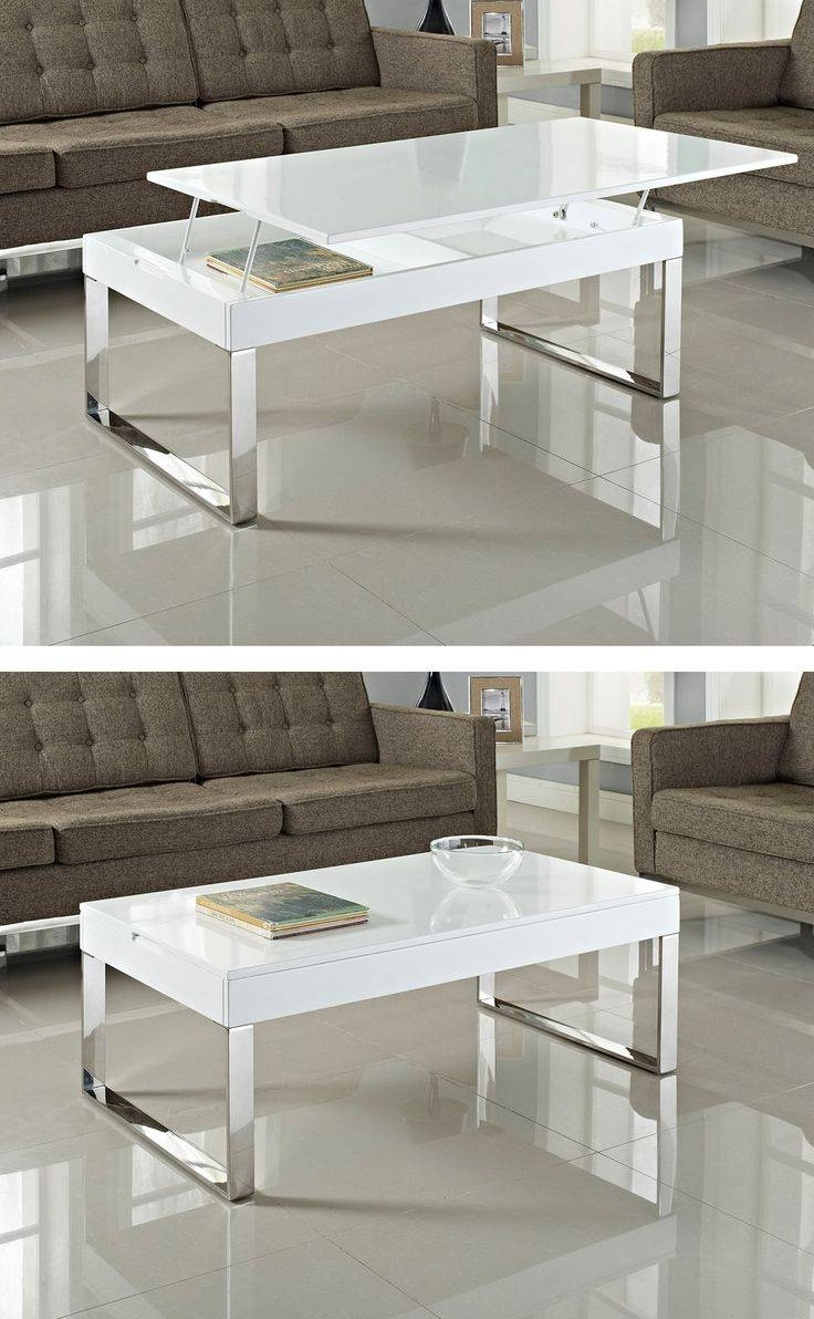 9 Best Diy Lift Up Coffee Table Images On Pinterest | Lift Top throughout Pull Up Coffee Tables (Image 1 of 30)