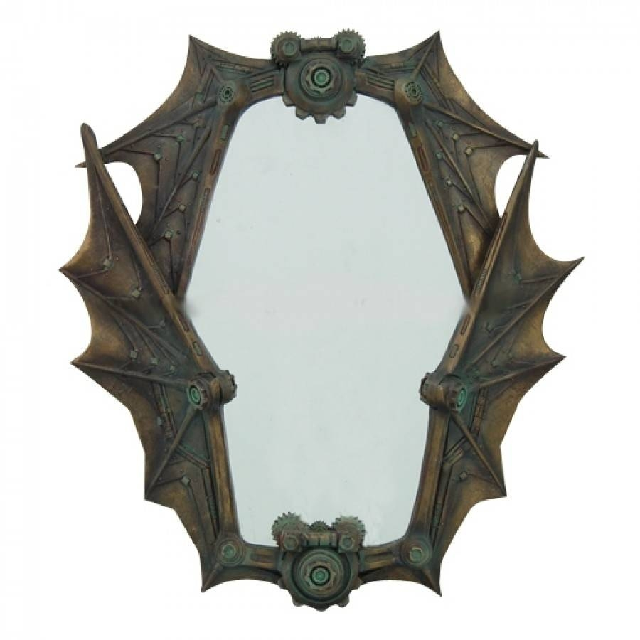 9157-Steampunk-Mirror-900X900 pertaining to Gothic Wall Mirrors (Image 3 of 25)
