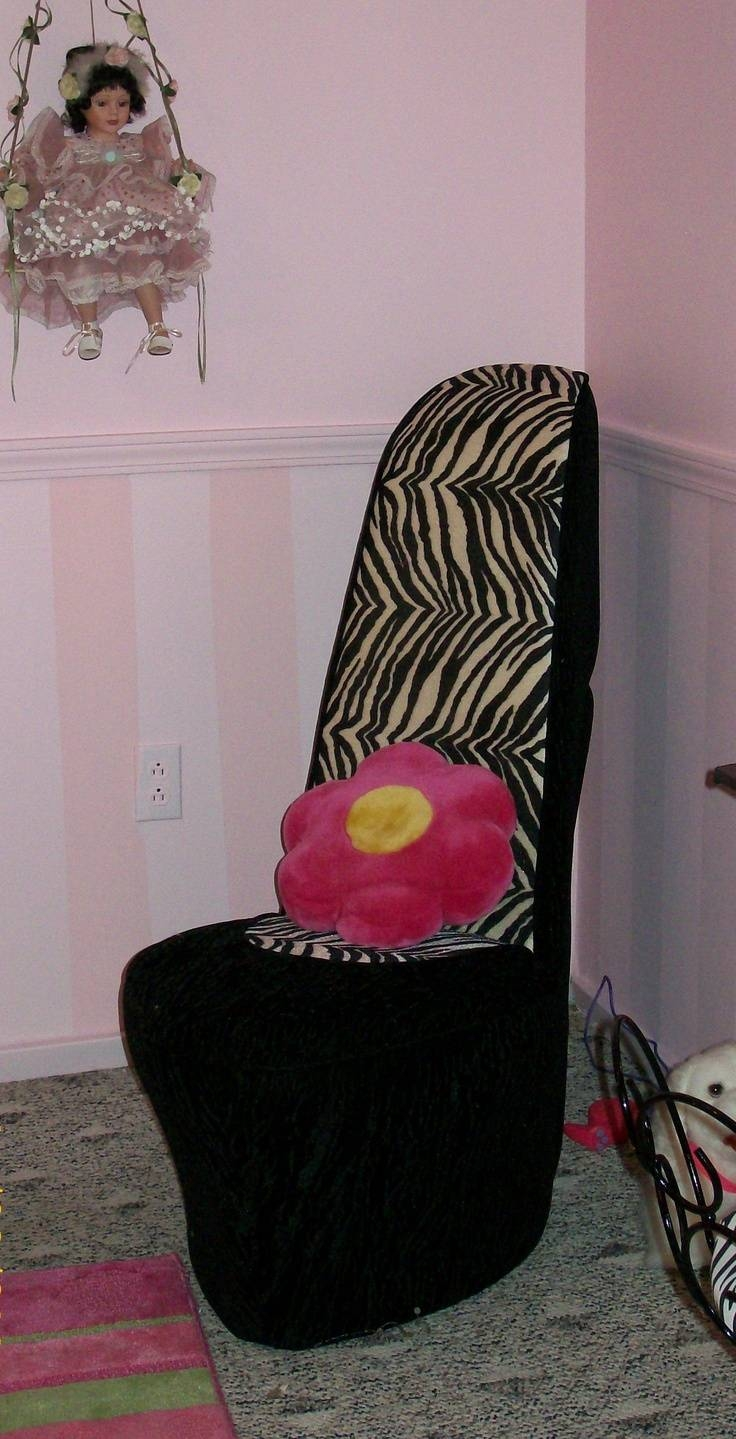 95 Best Shoe Chair Images On Pinterest | Bedroom Ideas, High within Heel Chair Sofas (Image 8 of 30)
