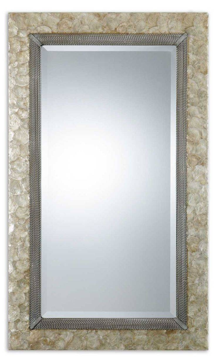 98 Best Mirrors For Beach Homes Images On Pinterest | Framed intended for Large Oak Mirrors (Image 1 of 25)