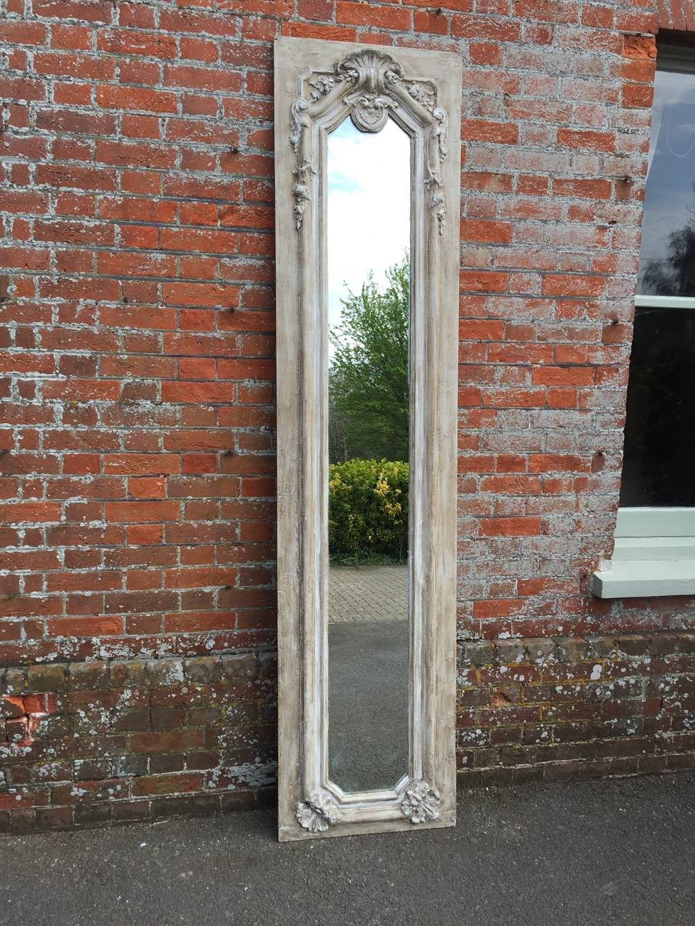 A Fabulous Highly Unusual Extra Large Antique 19Th Century French with regard to Antique Large Mirrors (Image 1 of 25)