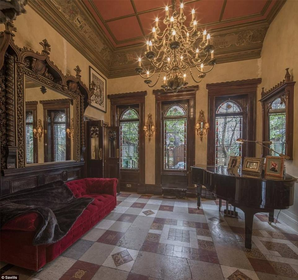 A Five Bedroom Gothic-Style Pad In North London For £5.5Million with regard to Gothic Sofas (Image 9 of 30)