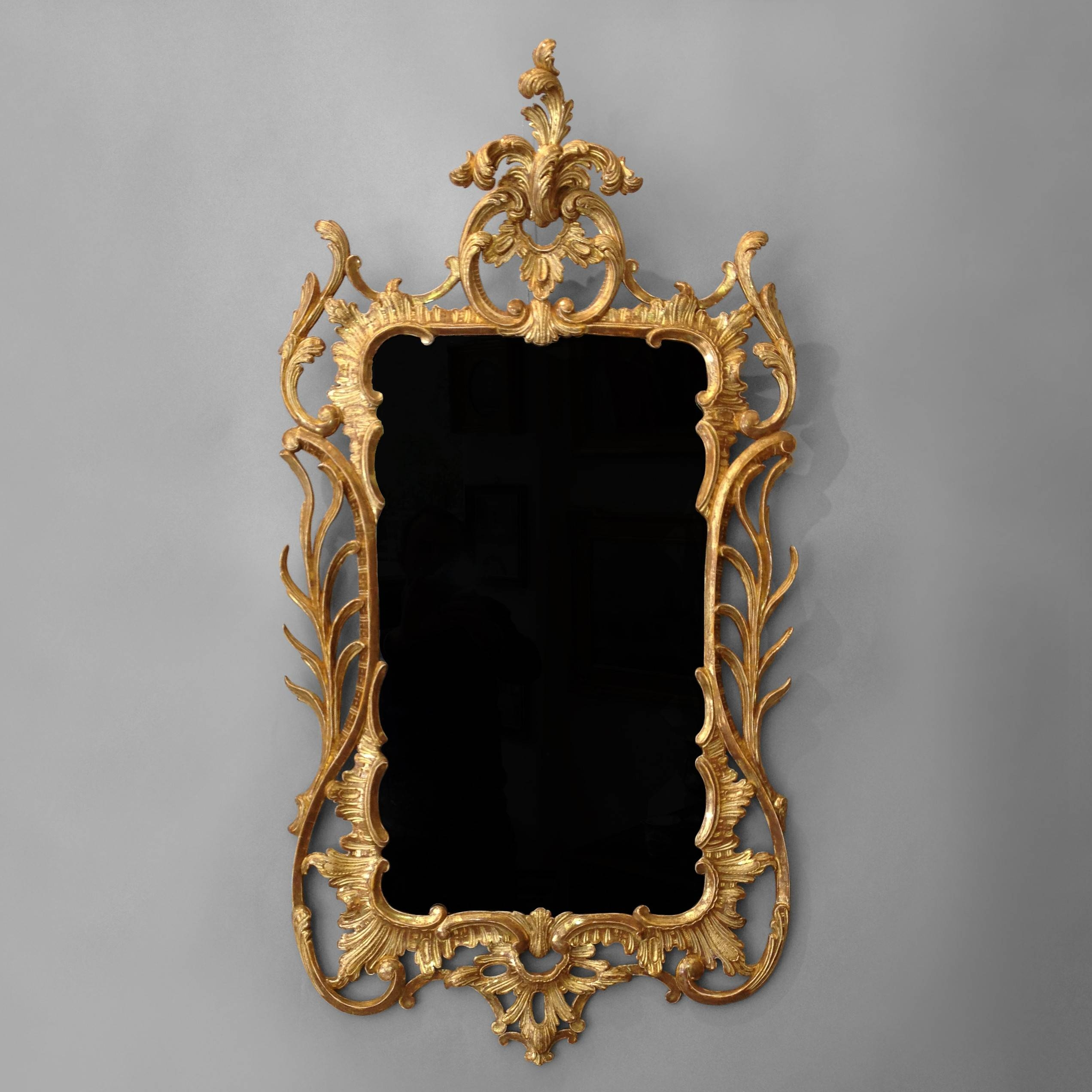 A George Iii Giltwood Rococo Mirror - Timothy Langston intended for Gold Rococo Mirrors (Image 10 of 25)