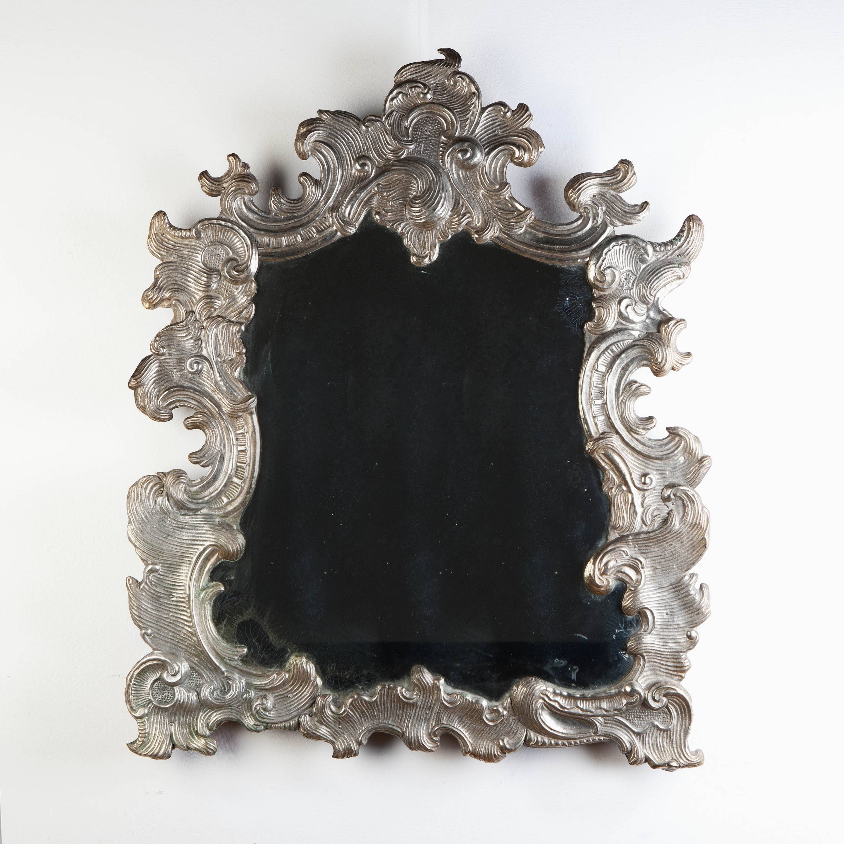 A Silvered Rococo Mirror (C. 1850 Italy) From Tarquin Bilgen - The pertaining to Rococo Mirrors (Image 7 of 25)