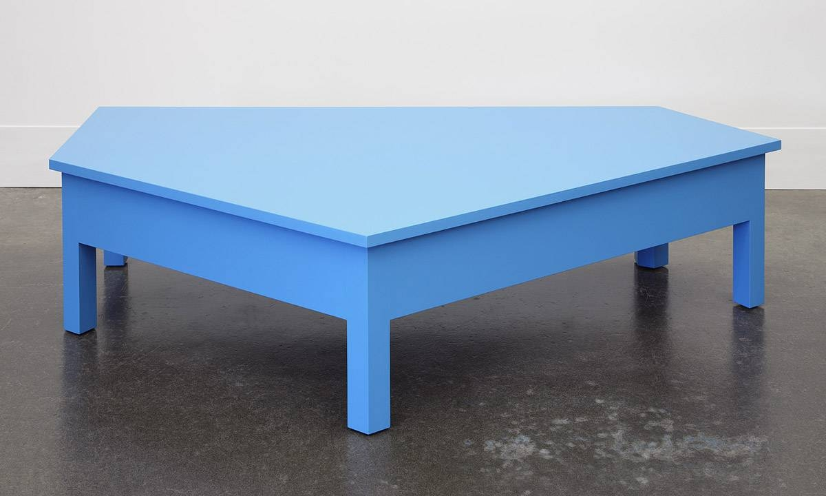 A Simple Blue Coffee Table / Domestic Furniture with regard to Blue Coffee Tables (Image 1 of 30)