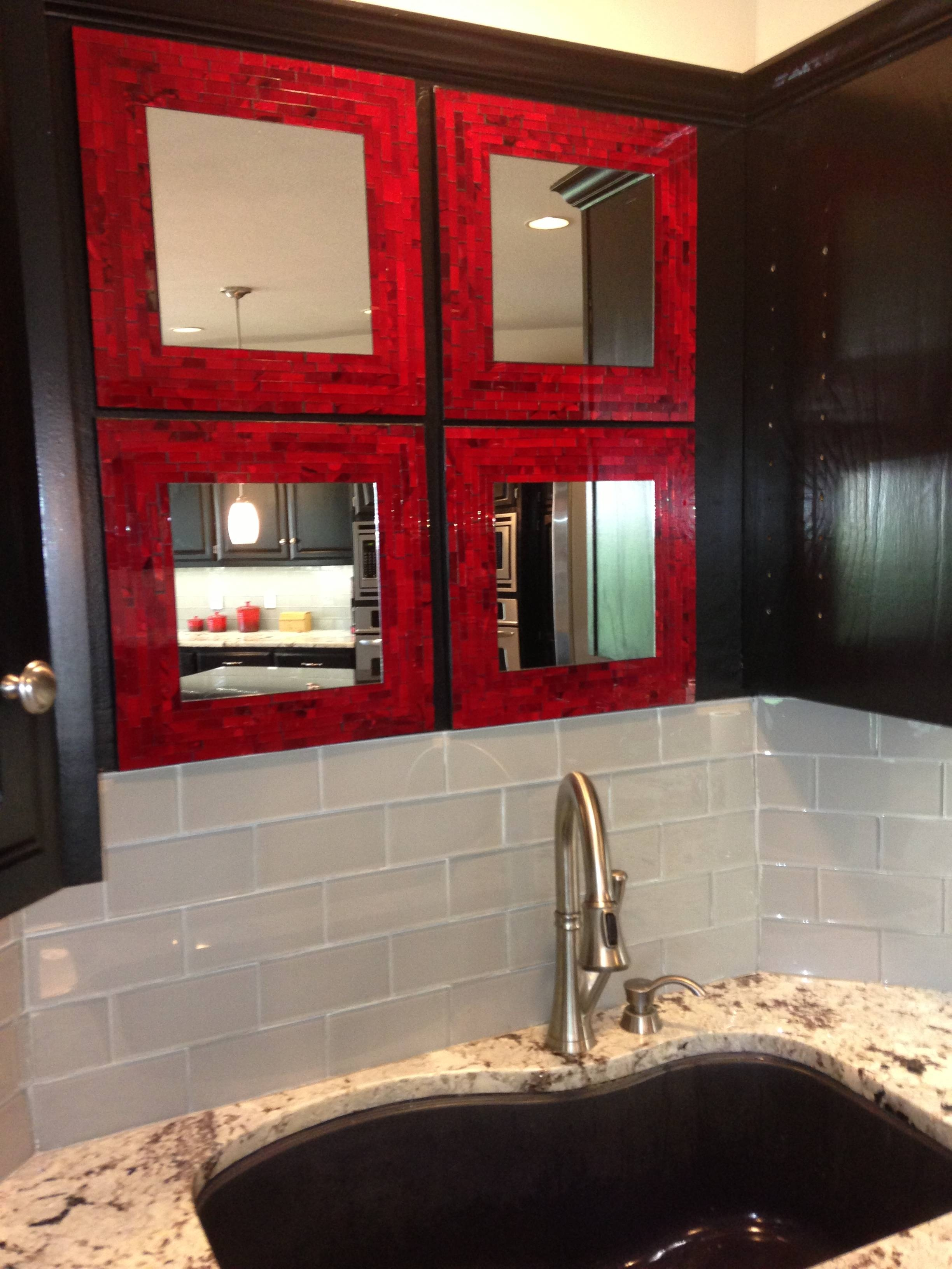 A Touch Of Red | Simply Ravishing throughout Red Mirrors (Image 6 of 25)