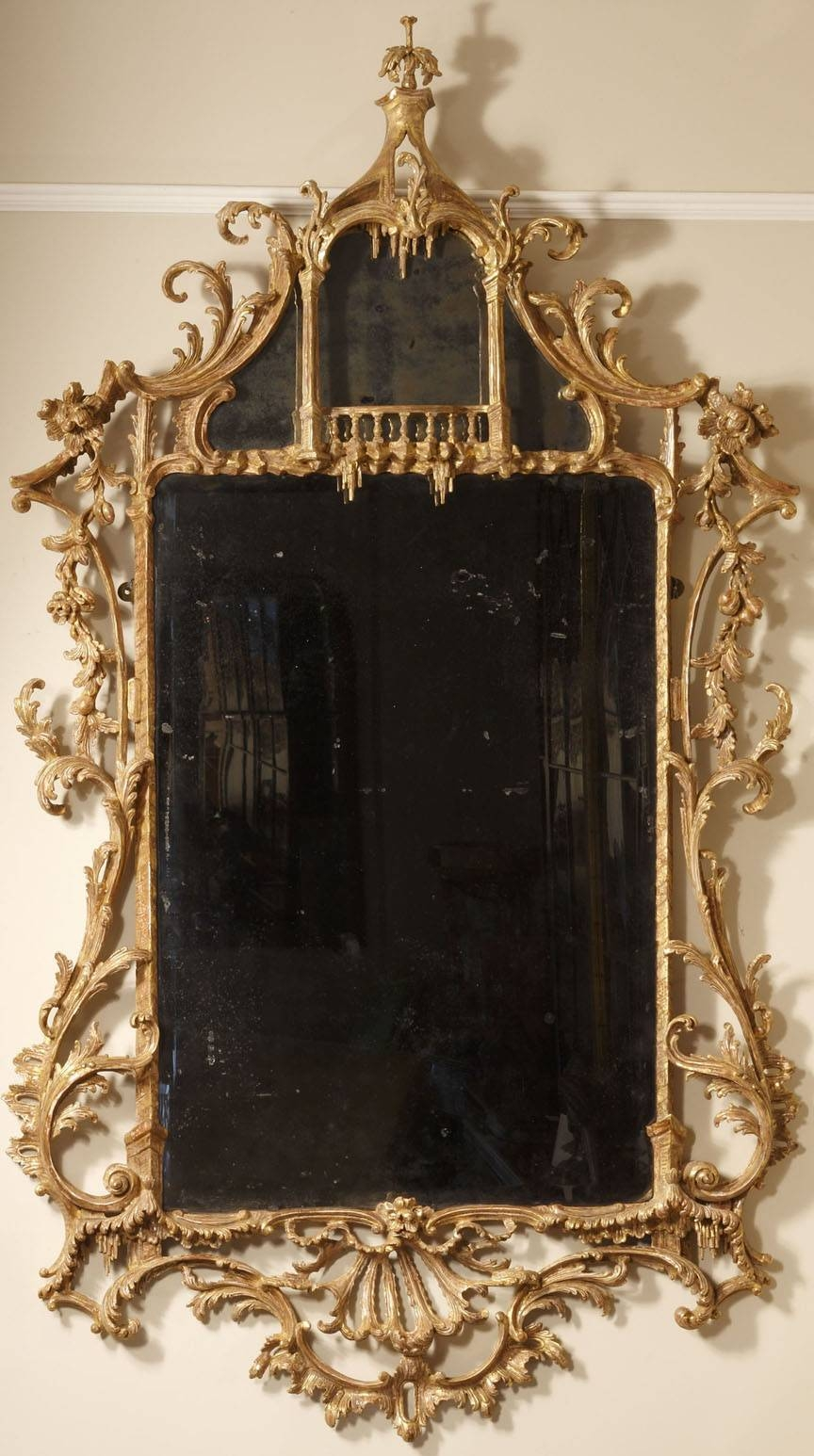 A Transitional Baroque And Rococo Mirror | Clinton Howell intended for Rococo Mirrors (Image 8 of 25)
