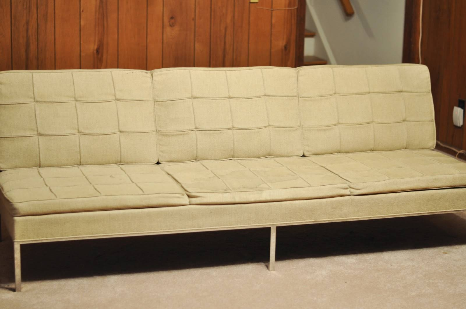 A Treasure In Storage: The Florence Knoll Sofa Comes Home | The with Florence Large Sofas (Image 5 of 30)